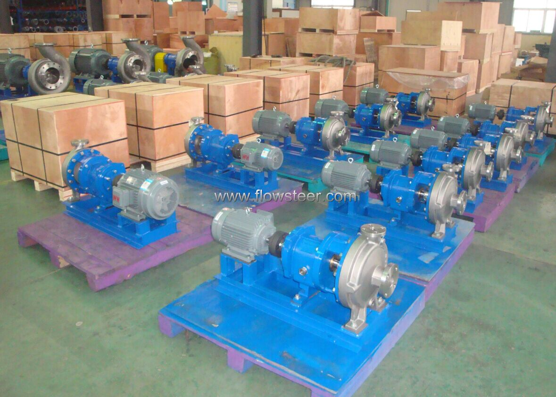 Ansi Chemical Process Pump Manufacturer Flowsteer Pumps